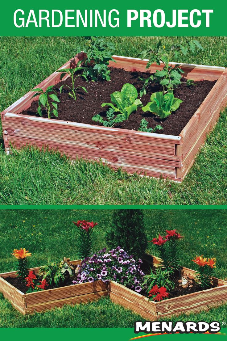 The RedyGarden Raised Garden Bed kit is made from