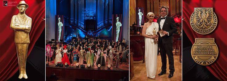 Nagroda dla WSA za najlepszy kostium sceniczny wręczona podczas jubileuszowej X Gali Teatralnych Nagród Muzycznych im. Jana Kiepury.