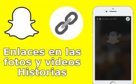 Ya se puede añadir enlaces en las fotos y videos de tus historias de Snapchat ✅ tanto en dispositivo iOS y Android. #Snapchat #Enlaces #Links #Android #iOS downloadsource.es