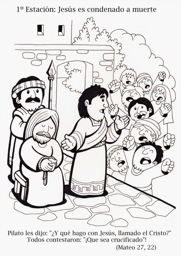 El Rincón de las Melli: Via Crucis tradicional