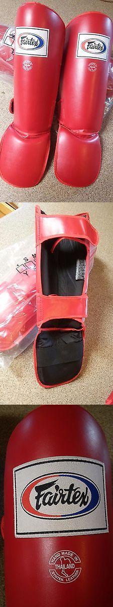 Shin Guards 179782: *New* Fairtex Pro Style Double Padded Shin Guards - Mma, Muay Thai, Kick Boxing BUY IT NOW ONLY: $41.99