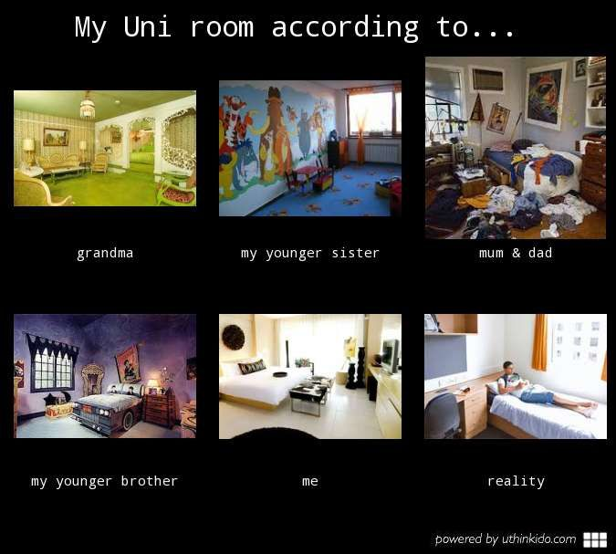 rooms at Uni