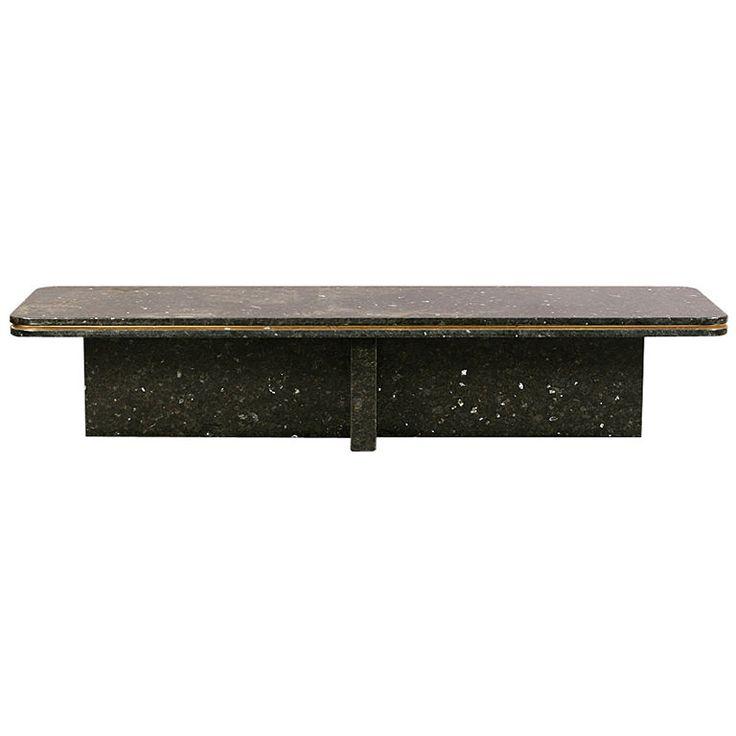 Modern Granite Coffee Table