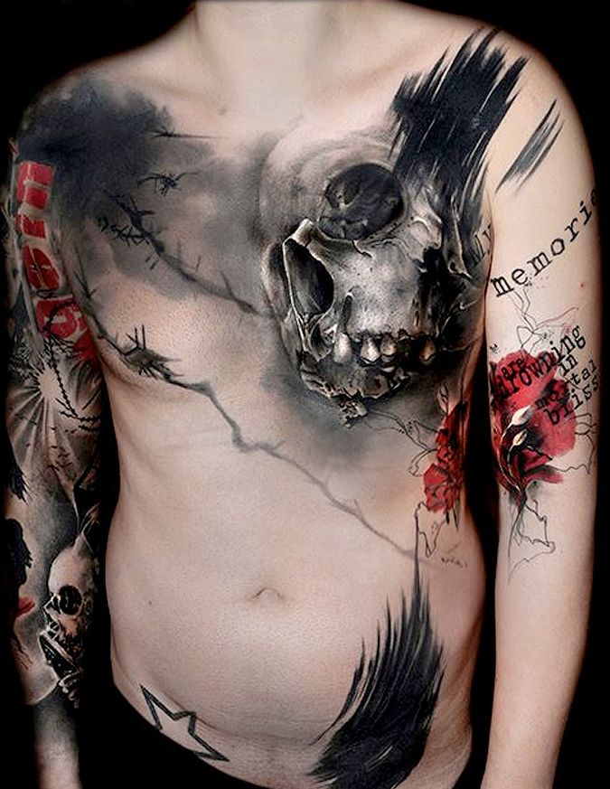 A arte de Volko Merschky e Simone Pfaff - Tattoaria