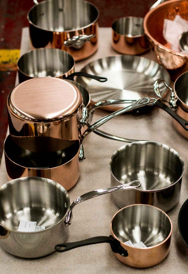 A Visit to Mauviel Copper Cookware Factory in France