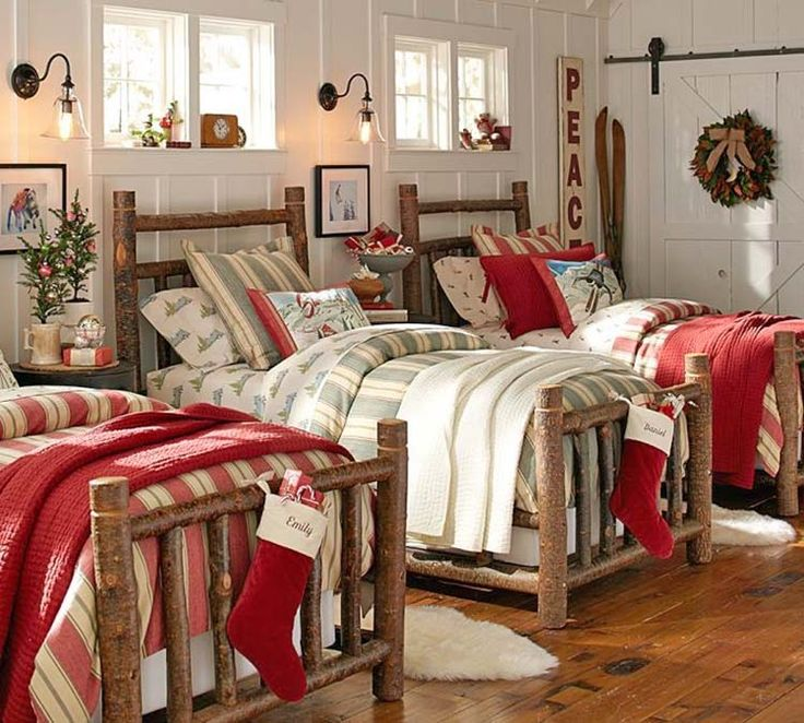 35 Ways to create a Christmas wonderland in your bedroom. 165 best Christmas  Bedrooms images on Pinterest   Christmas