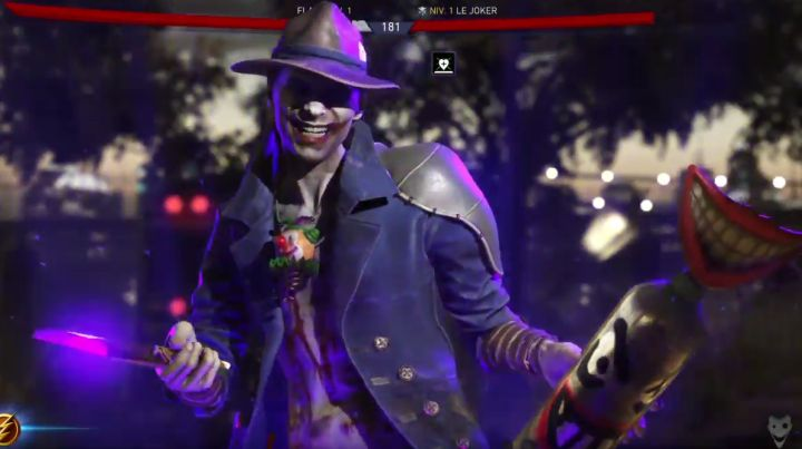"""Next Injustice 2 Character Reveal Leaks  NetherRealm has a big character reveal planned for tomorrow however some images and early gameplay footage have leaked out online.  You can check out the images which came fromNeogafbelow. It's not exactly surprising that The Joker will be a character in the upcoming fighting game sequel or """"Le Joker"""" as he is named in the French screenshots.  A version of The Joker did canonically die in the series' alternate timeline story but that rarely stops…"""