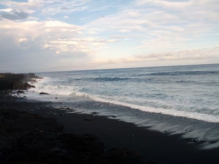 Kamui New Black Sand Beach, Big Island.