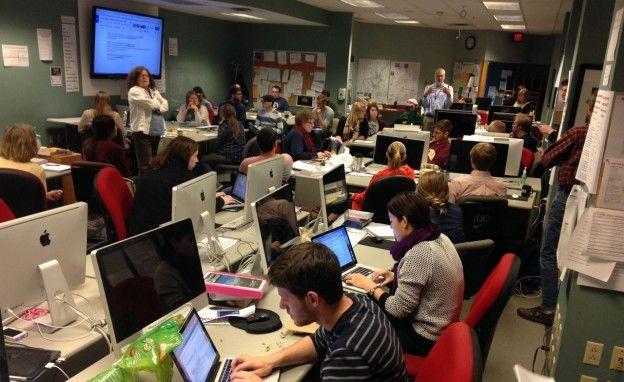 Bildresultat för school newsroom