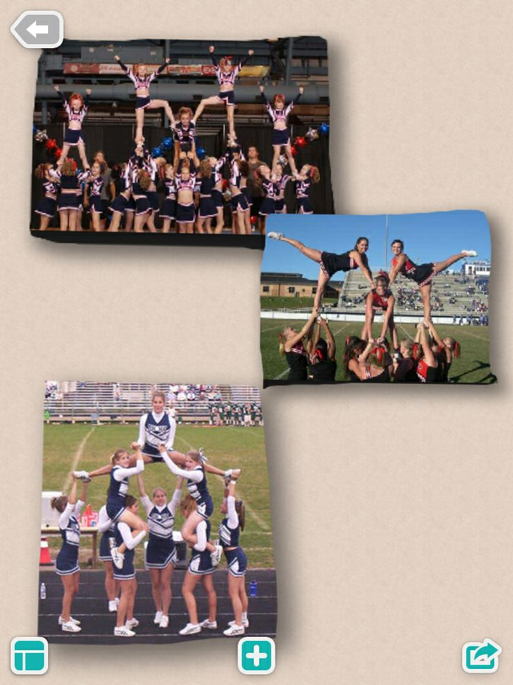 Cool cheer stunts