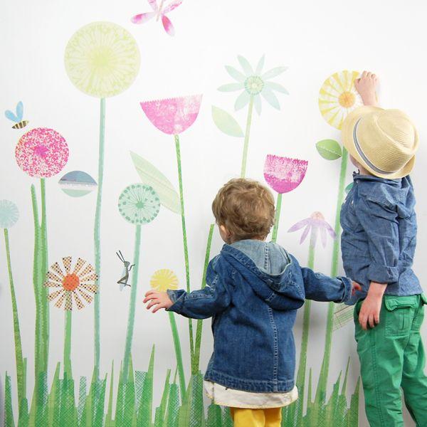 Wall Paint For Kids Room : , Kids Plays Room, Kids Wall, Kids Room, Wall Decals, Wall Painting ...
