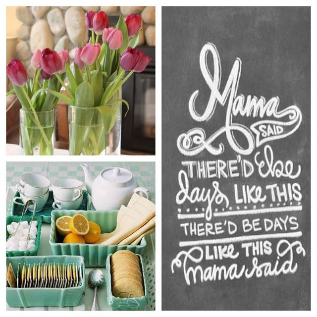 mother's day: goodies