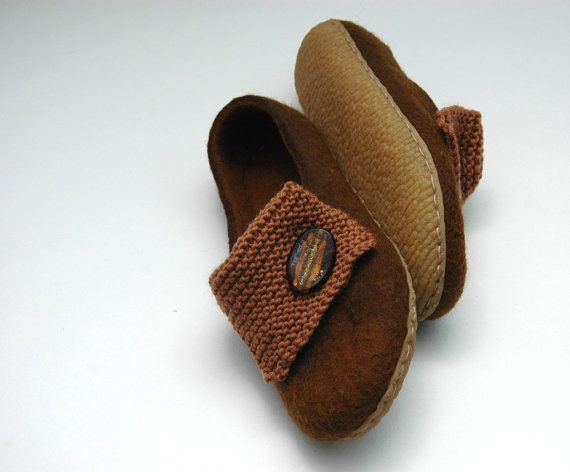 Hey, I found this really awesome Etsy listing at https://www.etsy.com/listing/124403951/felted-slippers-women-slippers-home
