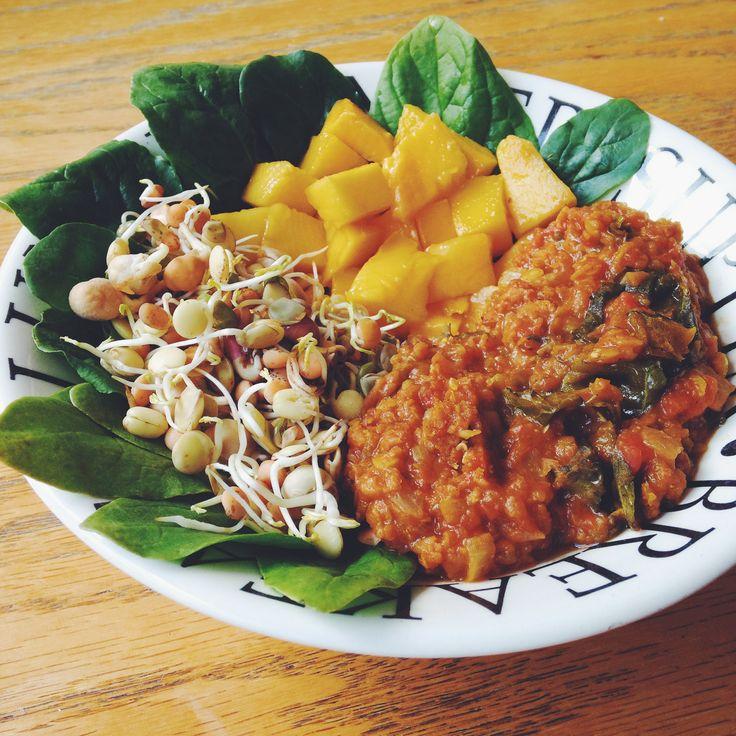Kale and Baobab Dahl