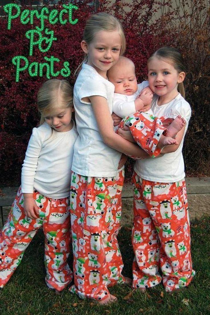 Perfect PJ Pants free pattern download!