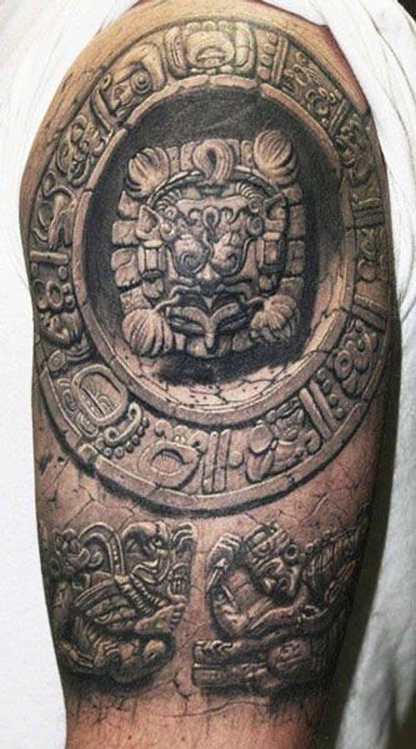 Half sleeve 3D tattoo - 60+ Amazing 3D Tattoo Designs