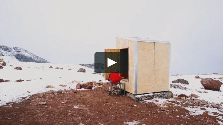 El refugio situado a 4.850 msnm. En el volcán Chimborazo tiene como objetivo testar en condiciones extremas los paneles prefabricados de ecomateriales desarrollados…