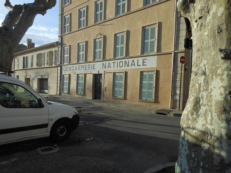 http://www.rosaland.com/le-golfe-de-saint-tropez  Un site incontournable La gendarmerie de Saint Tropez