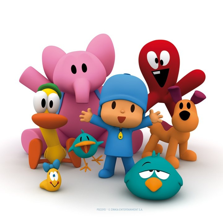 Pocoyo is a great Spanish cartoon from Spain for kids!
