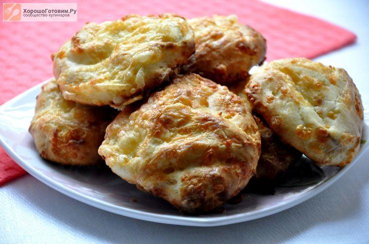 Сырные заварные булочки  Автор: Людмилa Семенюк