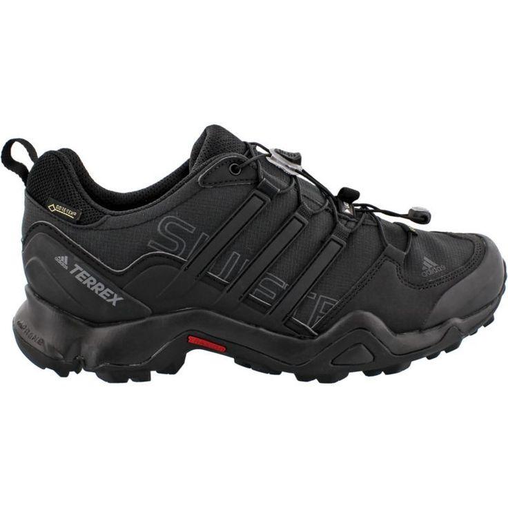 adidas Men's Terrex Swift GTX Hiking Shoes, Black