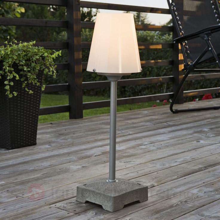 Utendørs stålampe for en unik og hjemmekoselig terassefølelse
