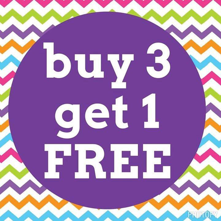 Buy One Get One Free: Buy 3 Get 1 FREE Jamberry Nail Wraps!!