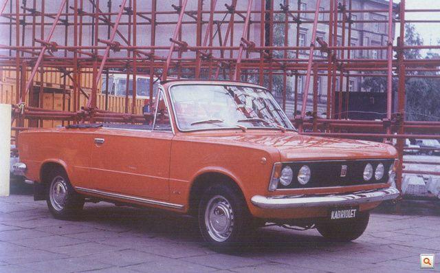 Fiat 125p Cabrio