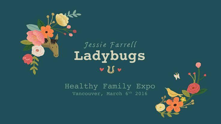 "Jessie Farrell - ""Ladybugs"" at the Healthy Family Expo on Vimeo @kidscbc  @thegumbootkids"