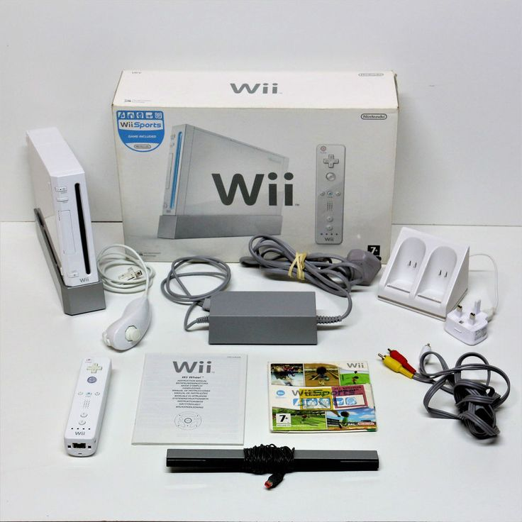 Nintendo Wii Console with everything and extras see main listing for details vgc
