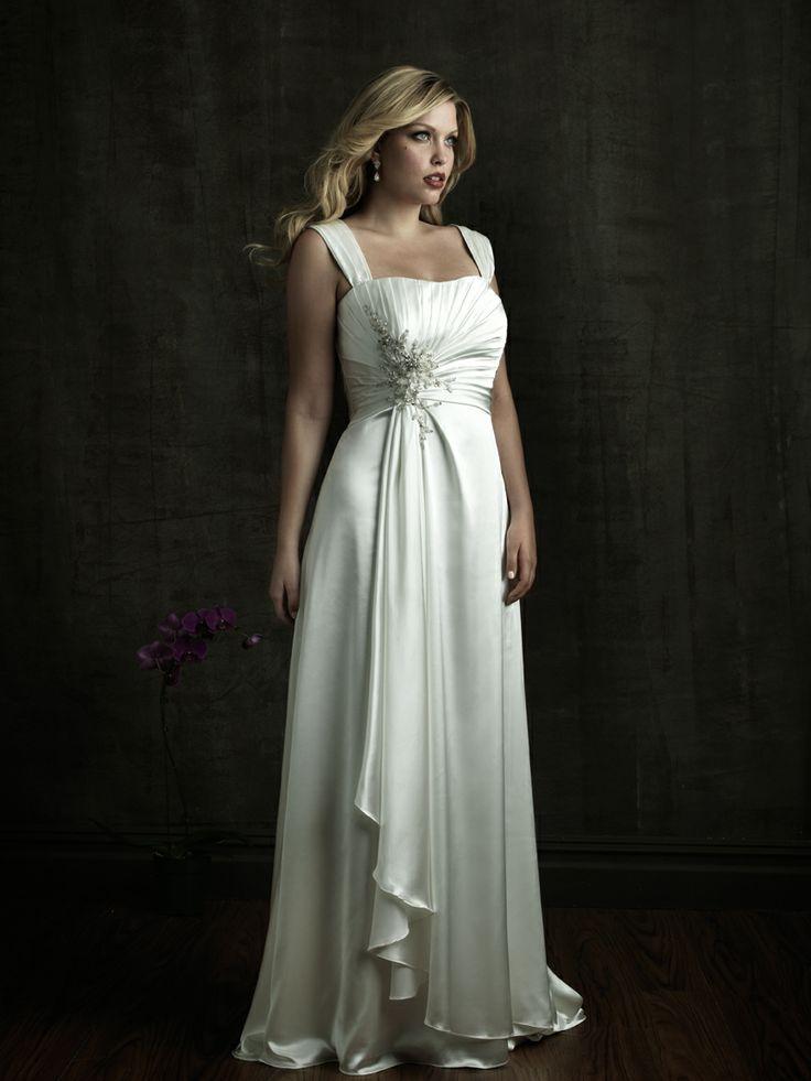 plus size wedding dresses mature women
