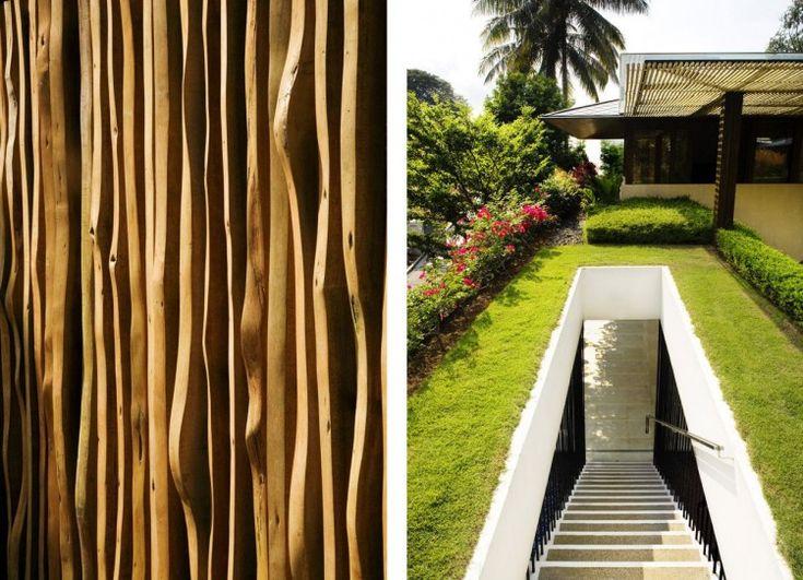 Inspiring wood use and creativity  Tangga House by Guz Architects