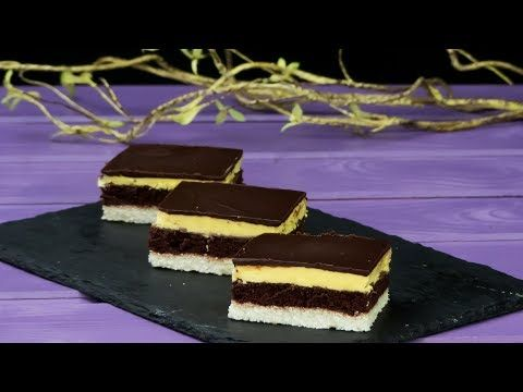 """Prăjitură de casă """"O noapte la Veneția"""" - se prepară foarte ușor și e foarte gustoasă.   SavurosTV - YouTube"""