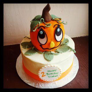 Second Generation Cake Design: Little Pumpkin Birthday Cake
