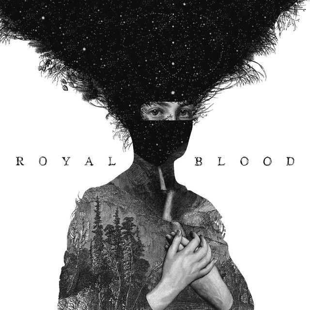 """""""Out Of The Black"""" by Royal Blood added to Walking Like A Badass playlist on Spotify From Album: Royal Blood"""