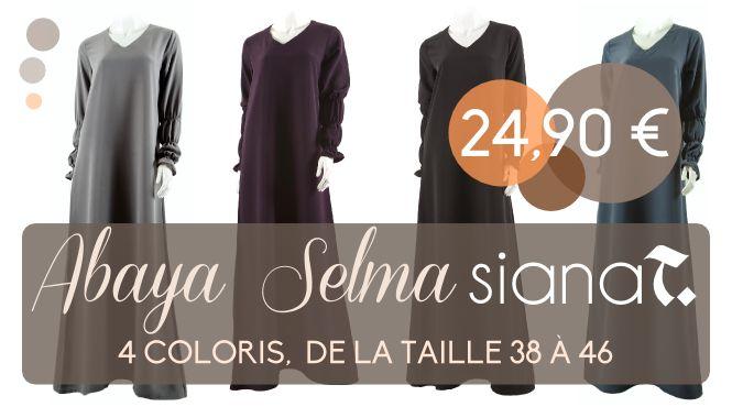 [Bon plan] Abaya Selma à 24,90€ sur Islamic Deal