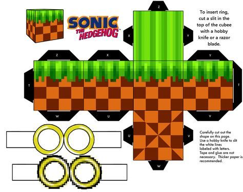 Sonic Green Hill Zone Classic Ground Block by mikeyplater.deviantart.com on @deviantART