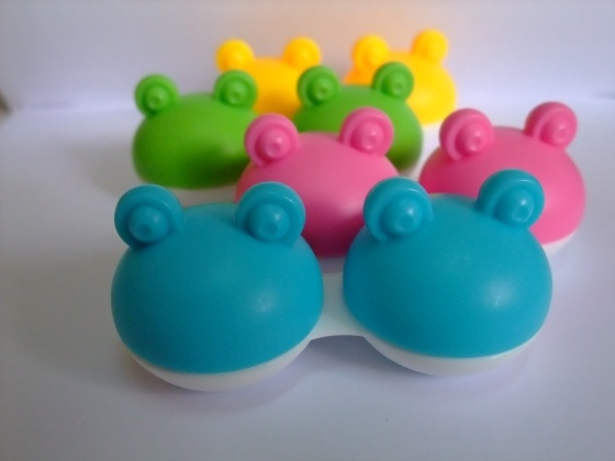 Frog Lens Cases in multiple colours