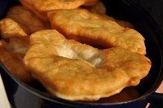Langosi   Romanian food