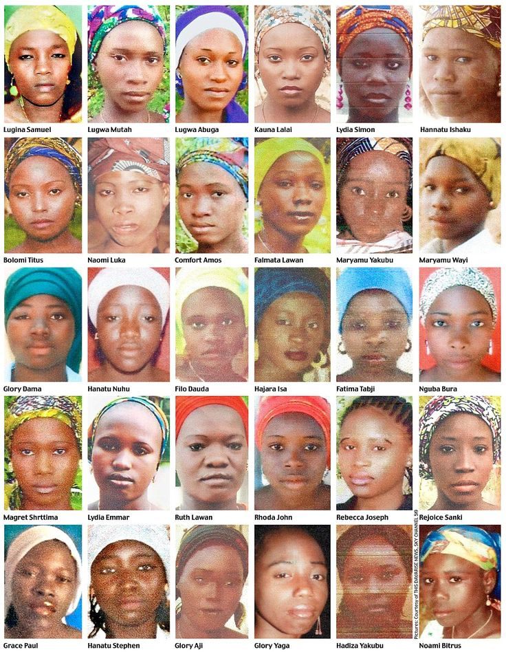 Gordon Brown was shown these pictures after visiting Nigeria this week. He met the leader  of the community council in Chibok, the town from which the girls were abducted. Slowly and with tears in his eyes, he flicked through a file in which he had recorded the names and photographs of the girls.