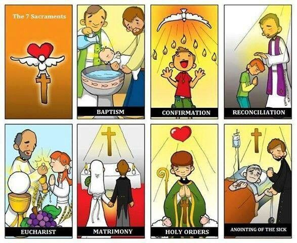 53 best images about The 7 Sacraments on Pinterest | Divine mercy ...