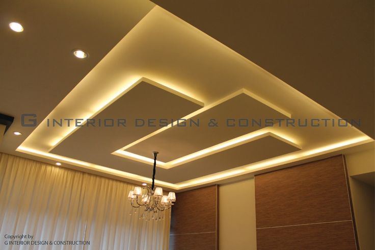 Plaster Ceiling Project      Light Tough Design ( U Design + Step)             Plaster Ceiling with Wooden & Divider Design      3D desig...