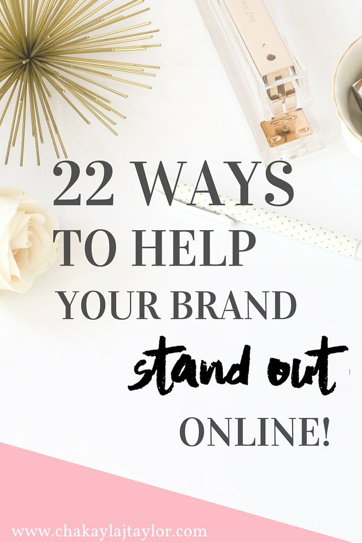 22 Ways to Stand Out Online (and attract the right community members) — Are you wondering how you can begin making a splash online? Then my friend, should click right here to check out 22 ways you can begin to grow your social media platforms, increase your traffic and how to network with other bloggers and entrepreneurs.