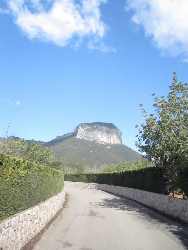 Road to Orient, Majorca, Spain