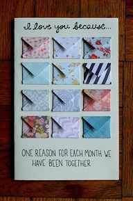 Best 25 diy gifts for boyfriend ideas on pinterest diy presents first wedding anniversary gift to make negle Image collections