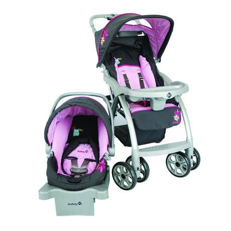 Safety 1st Saunter Travel System - Sophia Grace | Walmart.ca