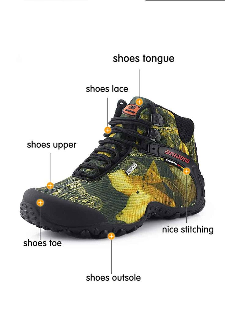 Men's hiking #Shoes with water-resistant fuction. You won't miss it!  http://www.tomtop.cc/QvUZBj