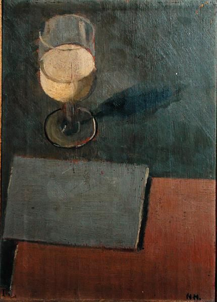 Hamnett, Nina (1890-1956). Still Life, c.1913, oil on panel, 35x25 cm, Private Collection: