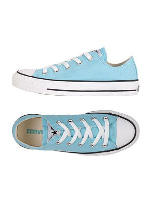 Cloud blue converse ox