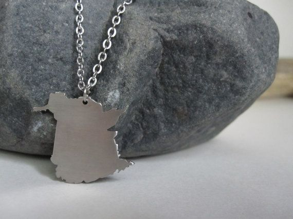 New Brunswick Necklace by Eighty8Eighty9 on Etsy